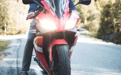 Een schoon vizier is belangrijk voor iedere motorrijder.